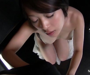 Asian whore gives a engulfs..