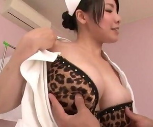 Miho Tsujii Asian nurse in..