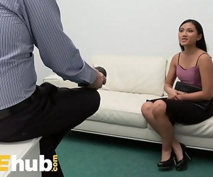 Fake Agent Small Asian Babe..