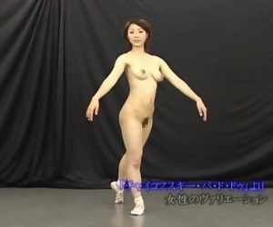 Japanese Naked Ballet Dancer..