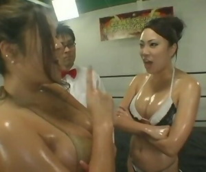 Thicc Asian Oil Wrestling